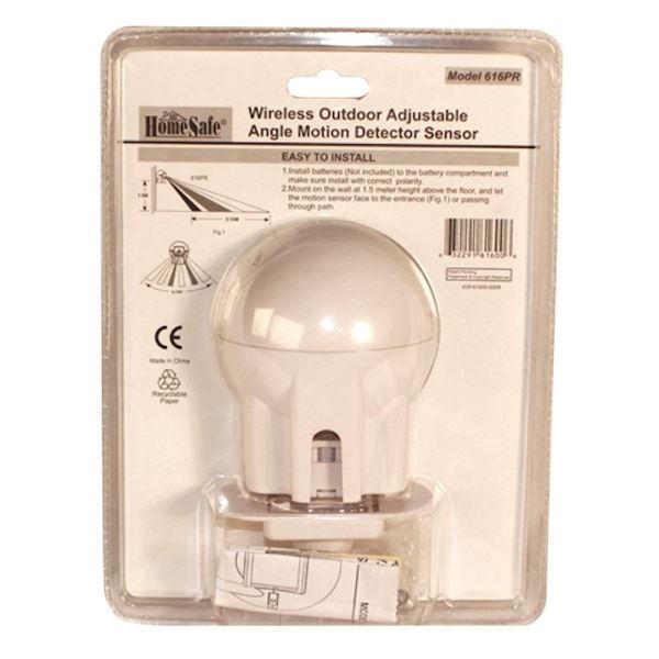 HomeSafe® Wireless Home Security Outdoor Motion Sensor