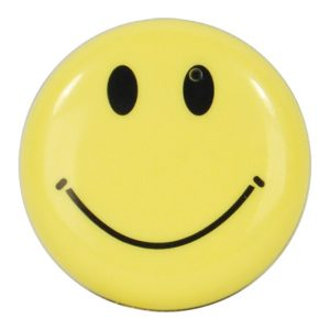 Smiley Face Mini Clip On Hidden Camera with Built in DVR