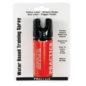 Inert 2 oz Fogger Practice Defensive Spray