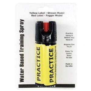 Inert 2 oz Stream Practice Defensive Spray
