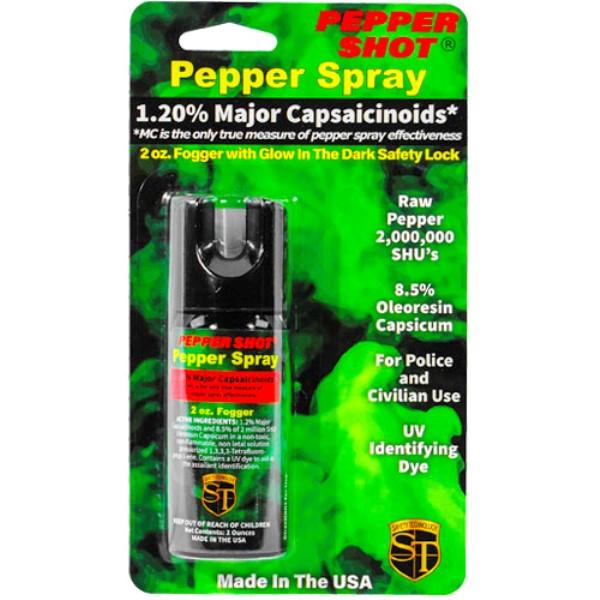Pepper Shot® 1.2% MC 2 oz Pepper Spray Fogger