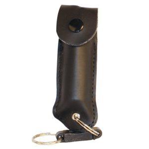 Pepper Shot® 1.2% MC ½ oz Pepper Spray Black Soft Holster
