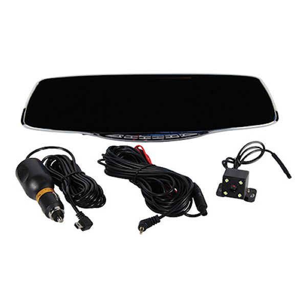 Rear view Mirror 1080P HD Camera with Built in DVR