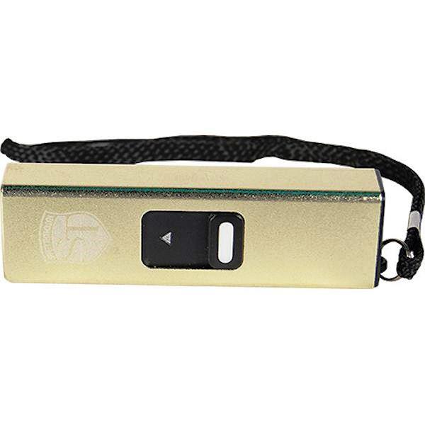 Slider Mini Gold Stun Gun USB Port
