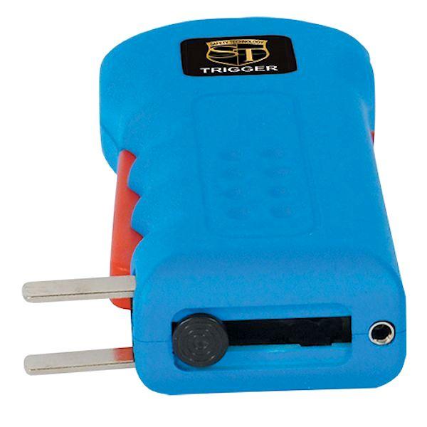 Trigger 18 Million volt Blue Stun Gun with Disable Pin