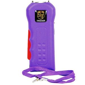 Trigger 18 Million volt Purple Stun Gun with Disable Pin