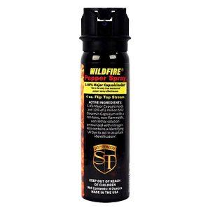 WildFire™ Pepper Spray 4 oz Flip Top Stream