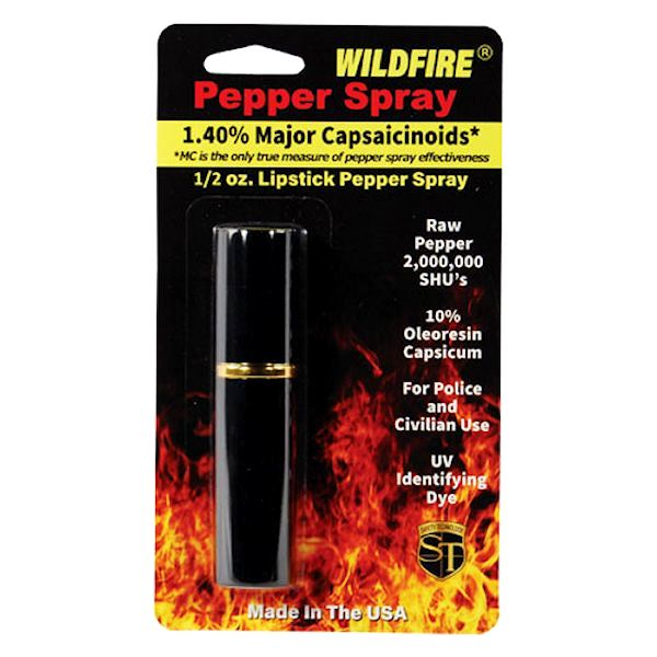 WildFire™ Black Lipstick Pepper Spray