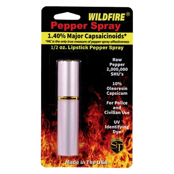 WildFire™ Pink Lipstick Pepper Spray