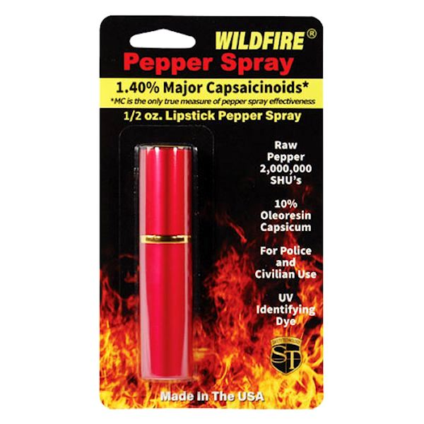 WildFire™ Red Lipstick Pepper Spray